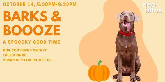 Barks & Booze: A Spooky Good Time