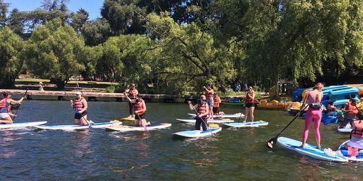 SUP Yoga + Flatwater 1 Training