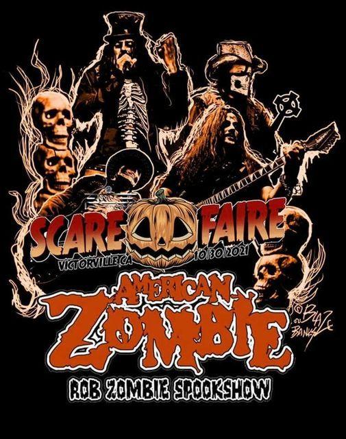 American Zombie Scare Faire Victorville CA 2021 Oct 30th