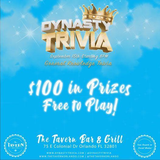 Trivia Night: General Knowledge