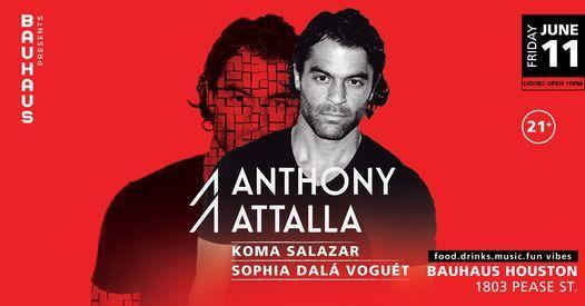 Bauhaus Presents: Anthony Attalla