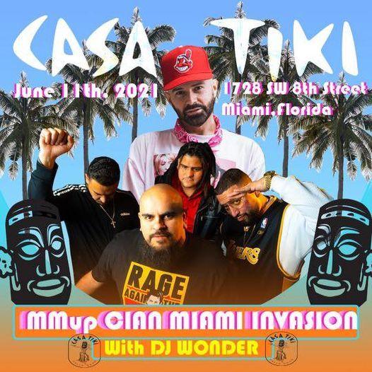 MMup Clan Miami Invasion w\/DJ Wonder