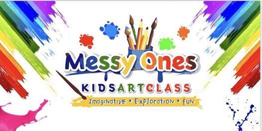 Messy Ones\u2019 Kids Art Class