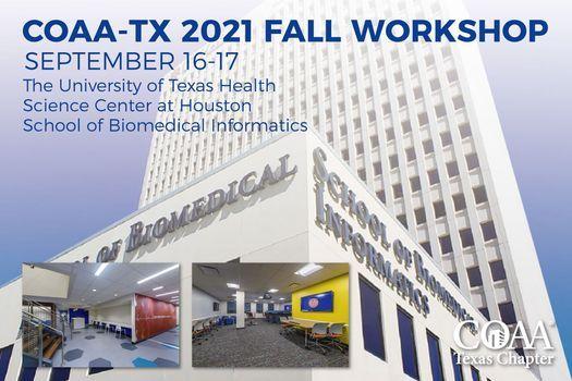 COAA_TX 2021 Fall Workshop