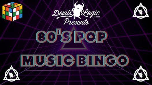 80s Pop Music Bingo