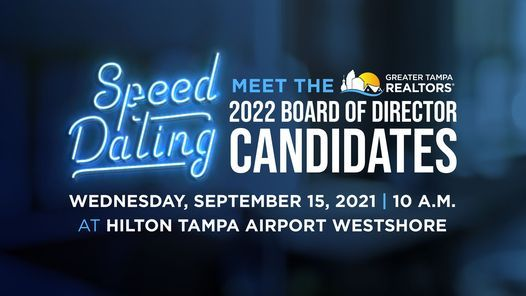 Speed Dating - Meeting the 2022 Board of Director Candidates
