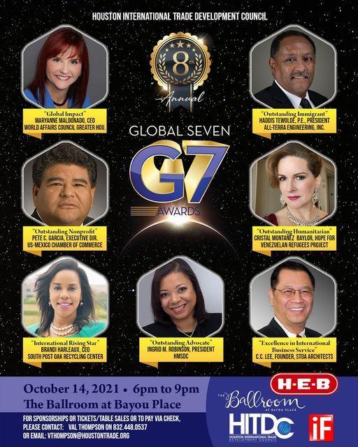 8th Annual Global 7 Awards Presentation 2021