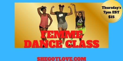 Self-Love Dance Class! Femme Jazz Funk