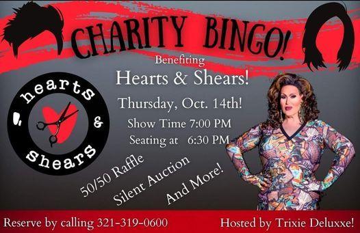Charity Bingo - Hearts & Shears