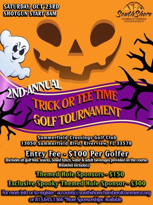 Trick or Tee Time, Halloween Golf Tournament