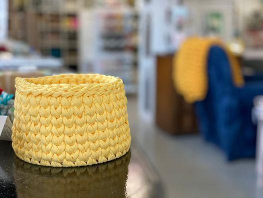 Make a Crochet Basket - September Class