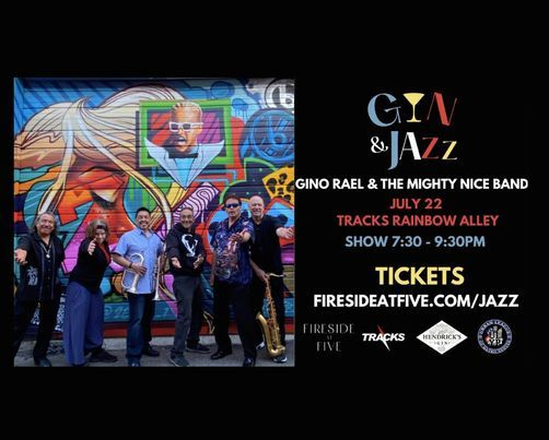 Gin & Jazz with Gino Rael & The Mighty Nice Band