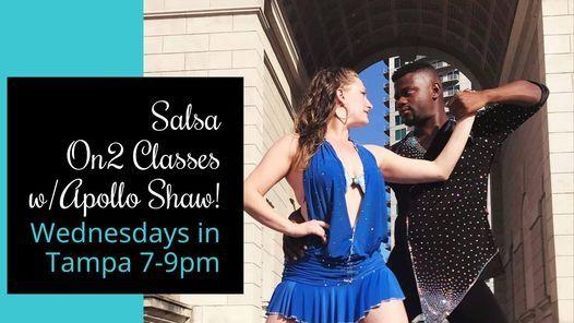 Salsa On2 Classes w\/Apollo Shaw!