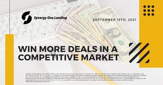 Realtors\u00ae! Win More Deals in a Competitive Market