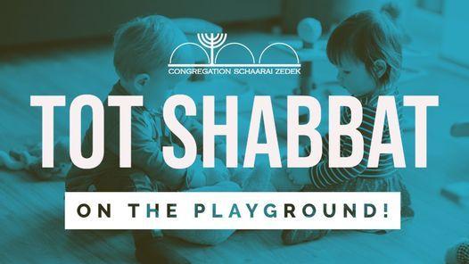 Tot Shabbat on the Playground