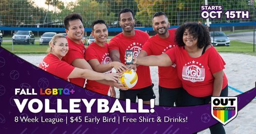 Fall LGBTQ+ Volleyball League