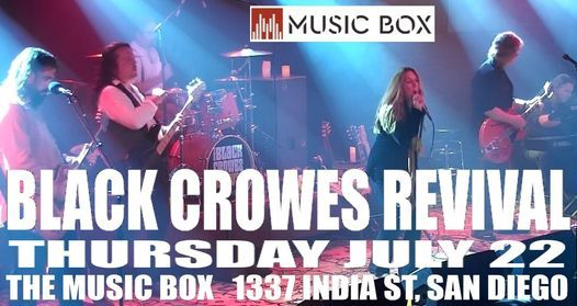 Black Crowes Revival return to The Music Box