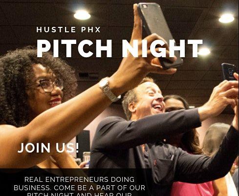 Hustle PHX 202 Pitch Night