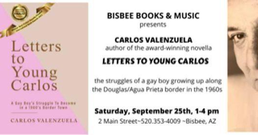 Artist Series - Author  Carlos Valenzuela