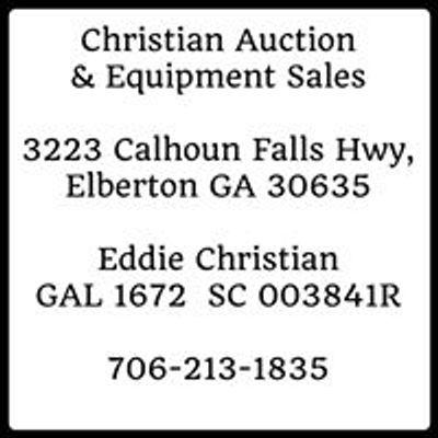 Christian Auction & Equipment