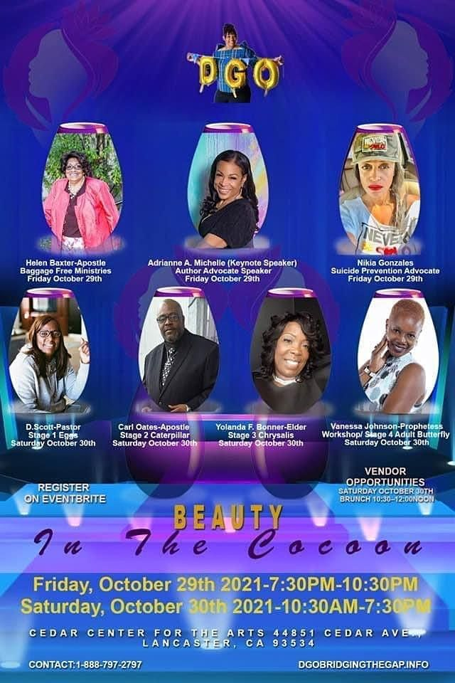 BEAUTY IN THE COCOON CONFERENCE AND COMMUNITY AWARENESS EVENT