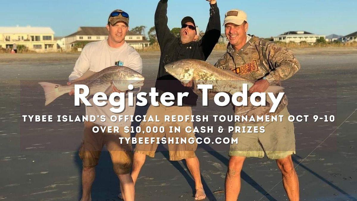 6th Annual Tybee Island Charity Redfish Tournament