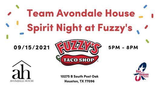 Team Avondale House Spirit Night at Fuzzy's Taco Shop