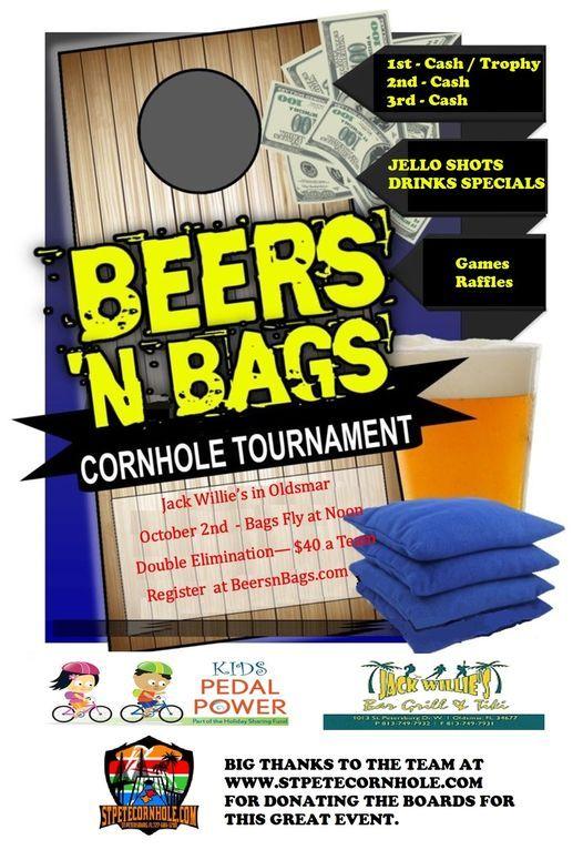 Beers 'N Bags Cornhole Tournament