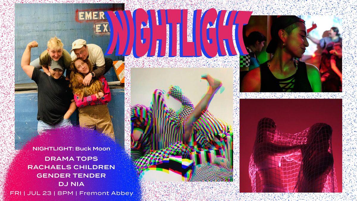 NIGHTLIGHT: Buck Moon full moon ritual + dance party @FREMONT ABBEY