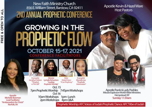 Prophetic Conference: Growing and Flowing in the Prophetic