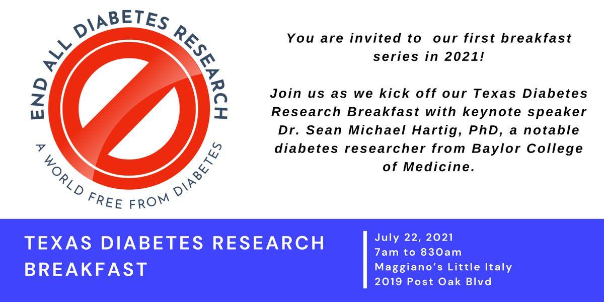 Texas Diabetes Research Breakfast