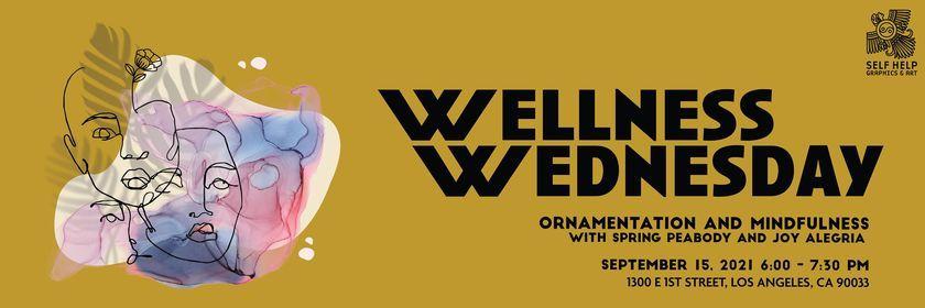 Wellness Wednesday: Ornamentation and Mindfulness with Spring Peabody and Joy Alegria