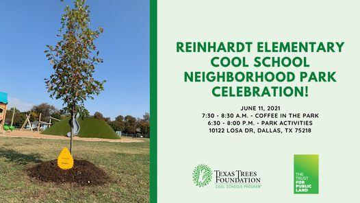 Reinhardt Elementary Neighborhood Park Celebration