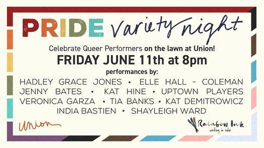 Pride Variety Night