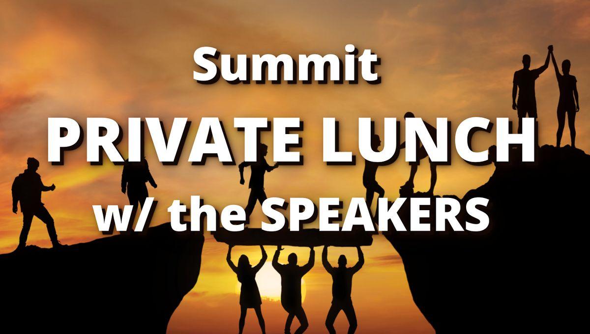 GPS Summit Mastermind Lunch