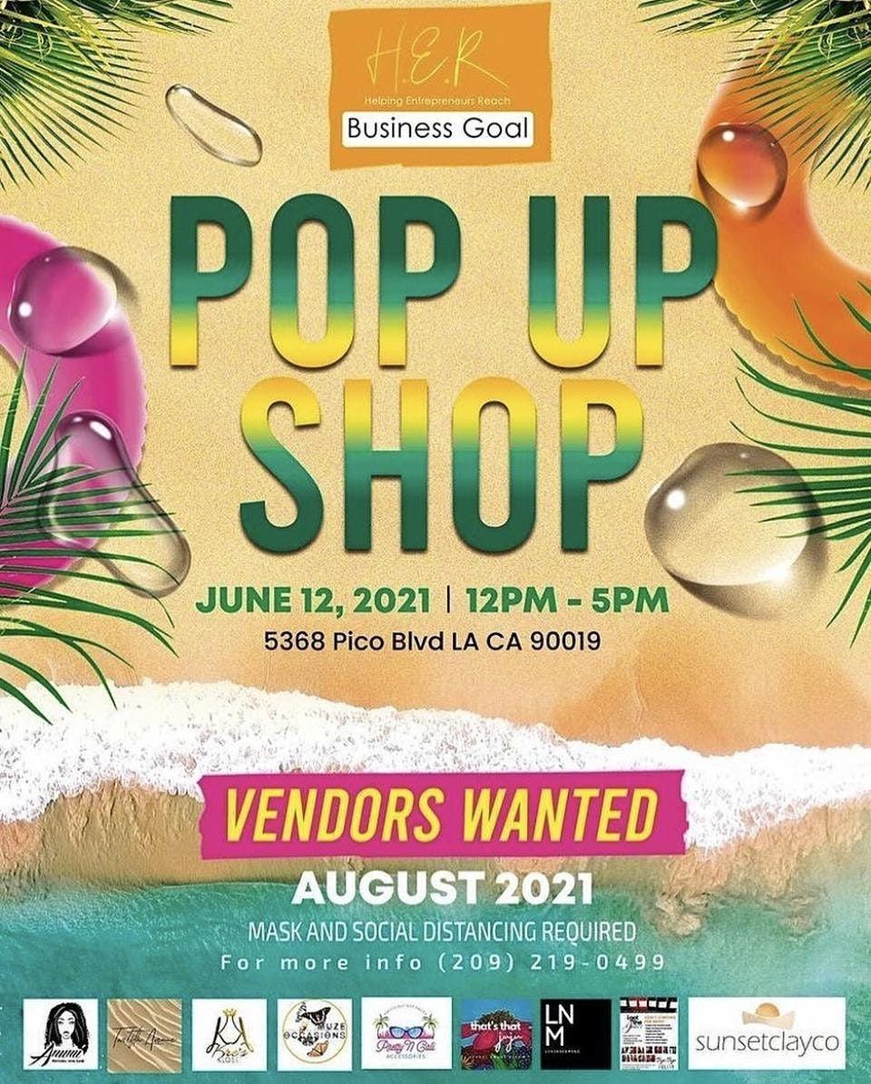 June Pop-up Event