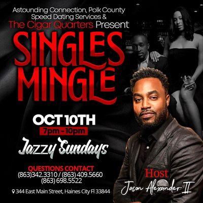 Singles Mingle Events