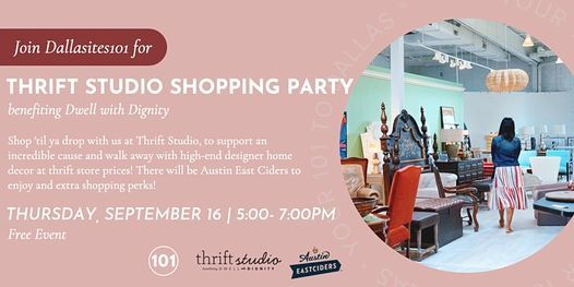 Dallasites101 Thrifty Thursday Shopping Party
