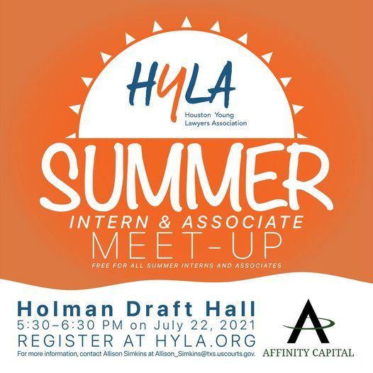 HYLA & Summer Interns\/Associate  Meet & Greet
