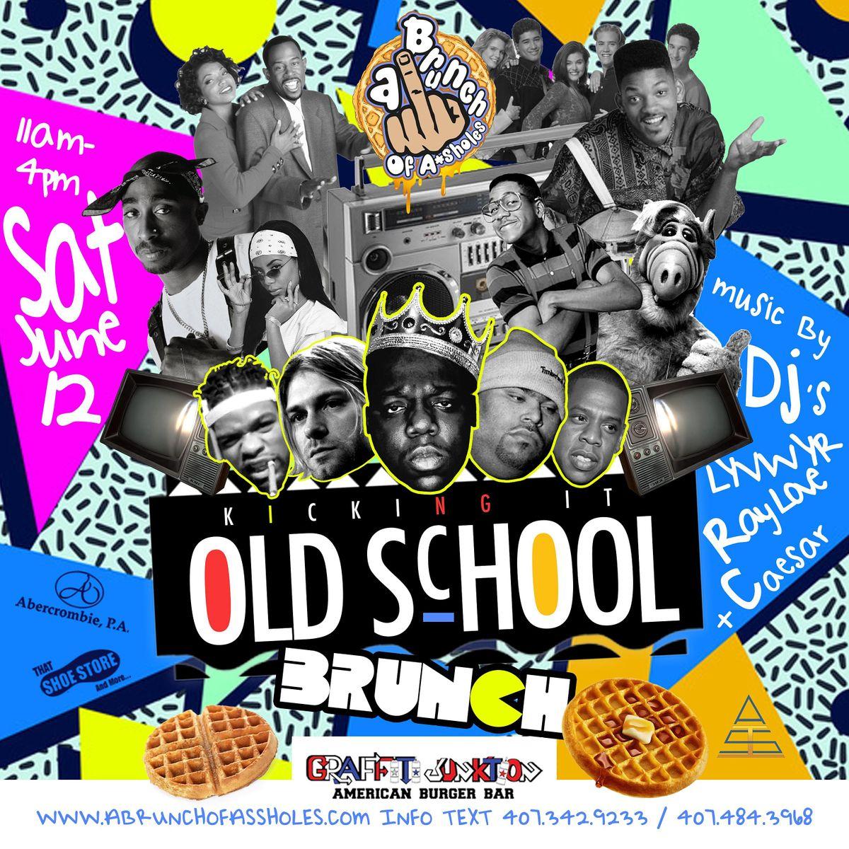 Old School Brunch Party