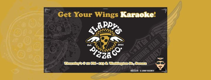 Get Your Wings Karaoke Night at Flappy's Pizza