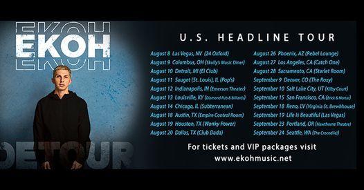 Ekoh at Empire Control (Austin, TX) - August 18th | Empire Control Room &  Garage, Austin, TX | August 18, 2021