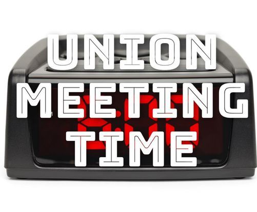 October Union Meeting