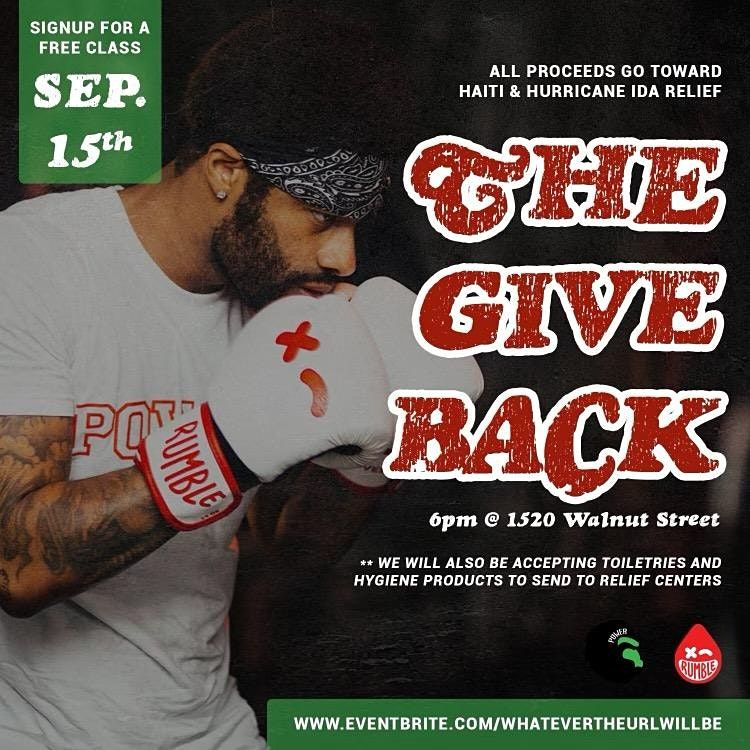 The Give Back!