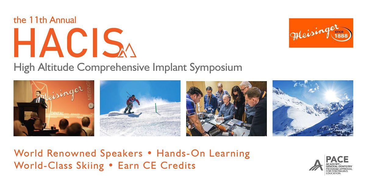 MEISINGER's 11th Annual High Altitude Comprehensive Implant Symposium