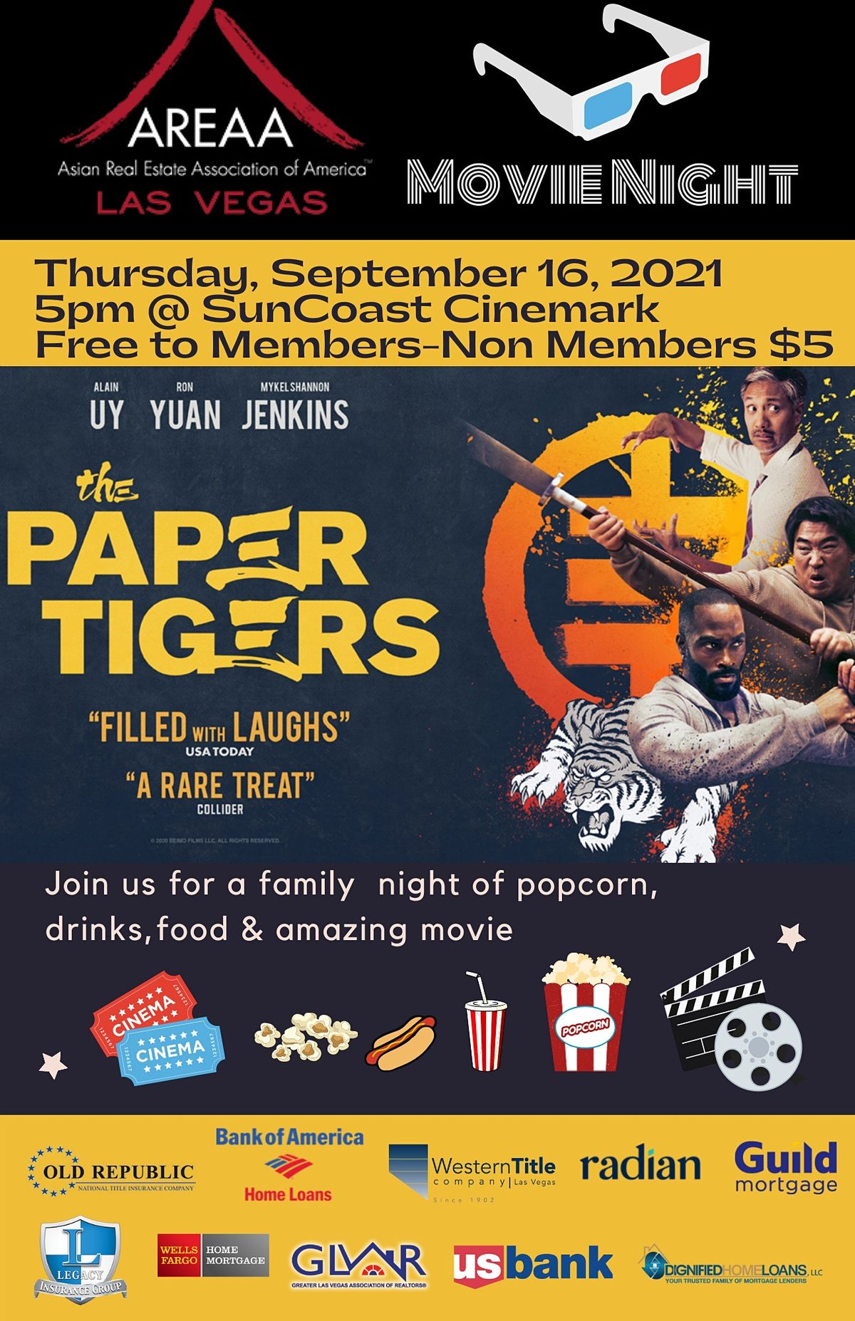 The Paper Tigers Private Movie Screening