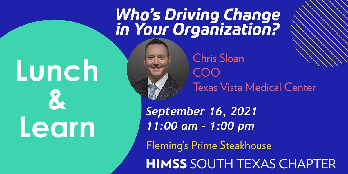 Lunch & Learn: Who\u2019s Driving Change in Your Organization?