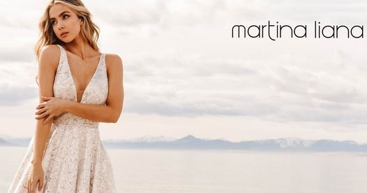 Martina Liana Trunk Show at The Story Bridal Couture