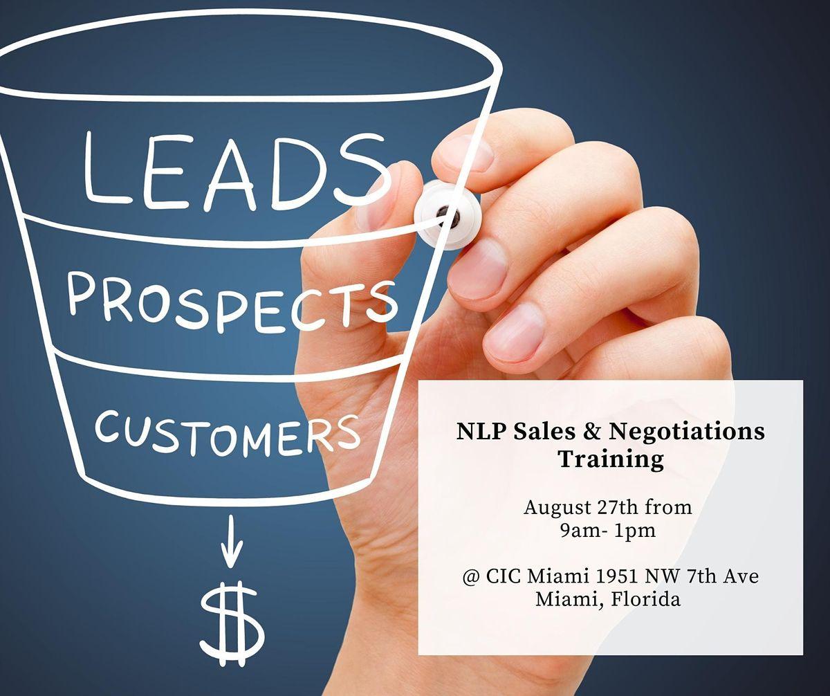 NLP Sales & Negotiations Training