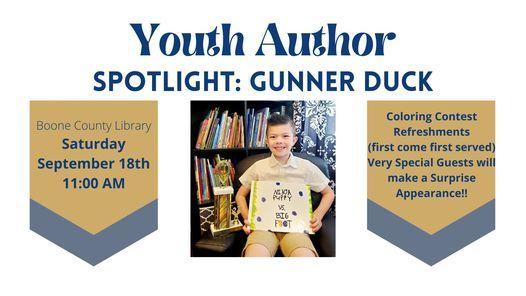 Youth Author Spotlight: Gunner Duck